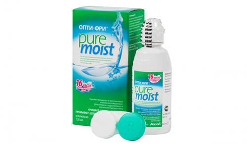 Многофункциональный раствор для контактных линз Опти-Фри Пью Мойст (Opti-Free Pure Moist)