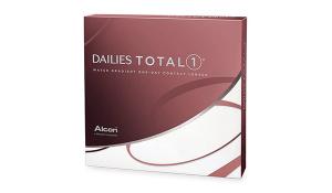Dailies Total 1 -(упаковка 90 шт)-однодневные контактные линзы