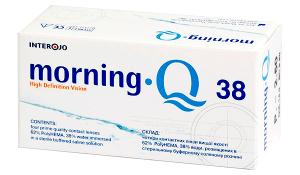 Купить квартальные контактные линзы Morning Q 38 с доставкой в Житомире, Черновцах, Сумах