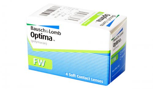 Купить квартальные контактные линзы Optima FW с доставкой в Херсоне, Полтаве, Чернигове