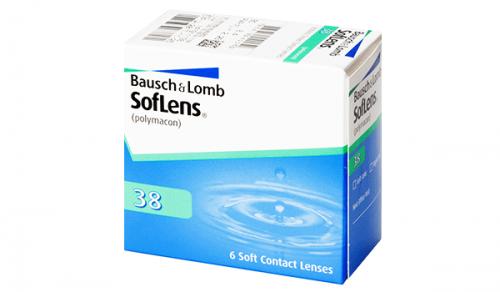 Купить квартальные контактные линзы Soflens 38 с доставкой в Житомире, Черновцах, Сумах