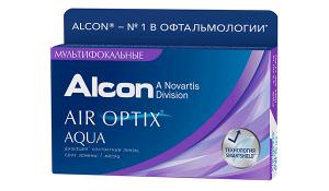 Купить мультифокальные контактные линзы для коррекции пресбиопии Air Optix Aqua Multifocal с доставкой в Бердянске, Мариуполе, Запорожье, Чернигове