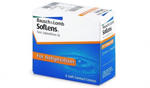 Купить торические контактные линзы для астигматизма Soflens Toric (Bausch + Lomb) с доставкой в Сумах, Хмельницком, Полтаве, Кировограде, Ужгороде