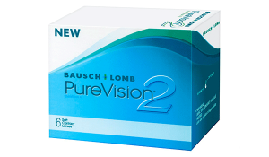 Купить месячные контактные линзы Pure Vision 2 HD в Киеве, Одессе, Запорожье, Львове