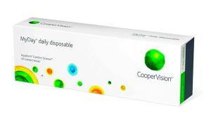 Купить контактные линзы MyDay Daily Disposable с доставкой по Киеву, Днепропетровску, Харькову, Мариуполю, Бердянску