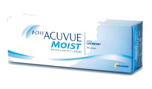 1-Day Acuvue Moist - однодневные контактные линзы купить в Мариуполе, Бердянске, Запорожье
