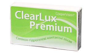 Купить месячные контактные линзы ClearLux Premium в Киеве, Бердянске, Ужгороде, Мукачеве