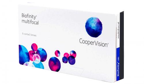 Купить мультифокальные контактные линзы для коррекции пресбиопии Biofinity multifocal с доставкой в Бердянске, Мариуполе, Запорожье, Чернигове