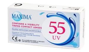 Купить месячные контактные линзы Maxima 55 UV в Виннице, Кировограде, Умани