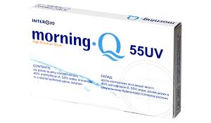 Купить месячные контактные линзы Morning Q 55 UV Interojo в Виннице, Кировограде, Умани