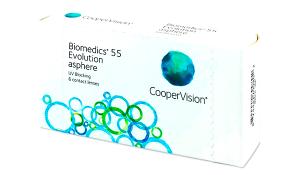 Купить месячные контактные линзы Biomedics 55 Evolution в Харькове, Донецке, Северодонецке, Жмеринке
