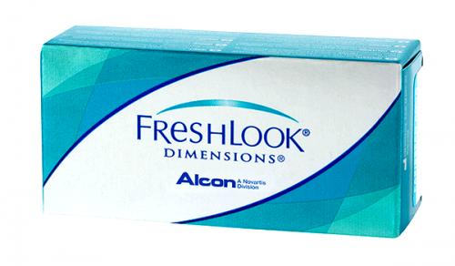Купить цветные контактные линзы Alcon Freshlook Dimensions в Украине – Киев, Харьков, Одесса, Днепр, Запорожье с доставкой