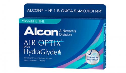 Купить месячные контактные линзы Air Optix HydraGlyde в Киеве, Мелитополе, Ужгороде, Львове
