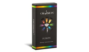 Купить цветные контактные линзы OKVision Fusion в Украине – Киев, Харьков, Одесса, Днепр, Запорожье с доставкой