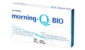 Купить месячные контактные линзы Morning Q Bio с доставкой в Херсоне, Полтаве, Чернигове