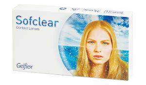 Купить месячные контактные линзы Sofclear с доставкой в Херсоне, Полтаве, Чернигове