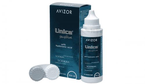 Купить раствор для контактных линз Unica Sensitive AVIZOR