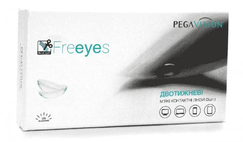 Купить линзы для работы за ПК Freeyes PegaVision двухнедельные-контактные-линзы
