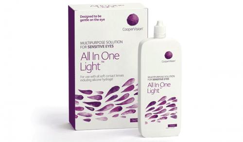 Купить раствор для контактных линз All In One Light Cooper Vision