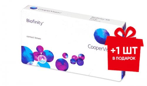 Акция Biofinity Comfilcon